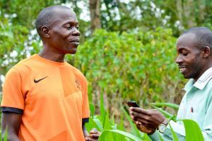 MUIIS Service Agents profiling farmers across Uganda